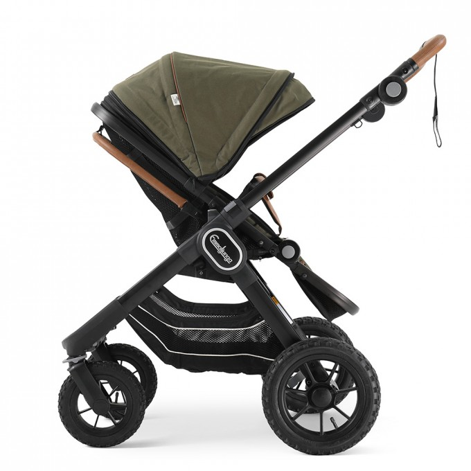 Прогулянкова коляска Emmaljunga NXT90 Outdoor Air Outdoor Olive