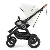 Прогулянкова коляска Emmaljunga NXT90 Outdoor Air FLAT White Leatherette