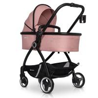Euro-Cart Crox коляска 2 в 1 Rose