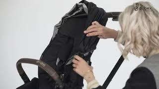 Cybex ePriam - збирання прогулянкової коляски