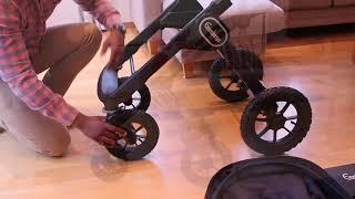 Emmaljunga NXT90 F складання коляски