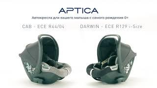 Inglesina Aptica Car Seat Cab Darwin - відео огляд і порівняння двох автокрісел
