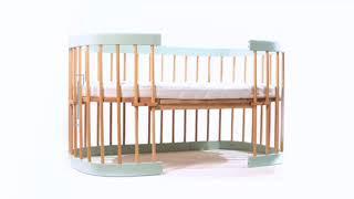 Ліжко Tweeto 7в1 - відео огляд функціональних можливостей