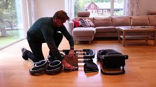 Emmaljunga NXT90 складання коляски